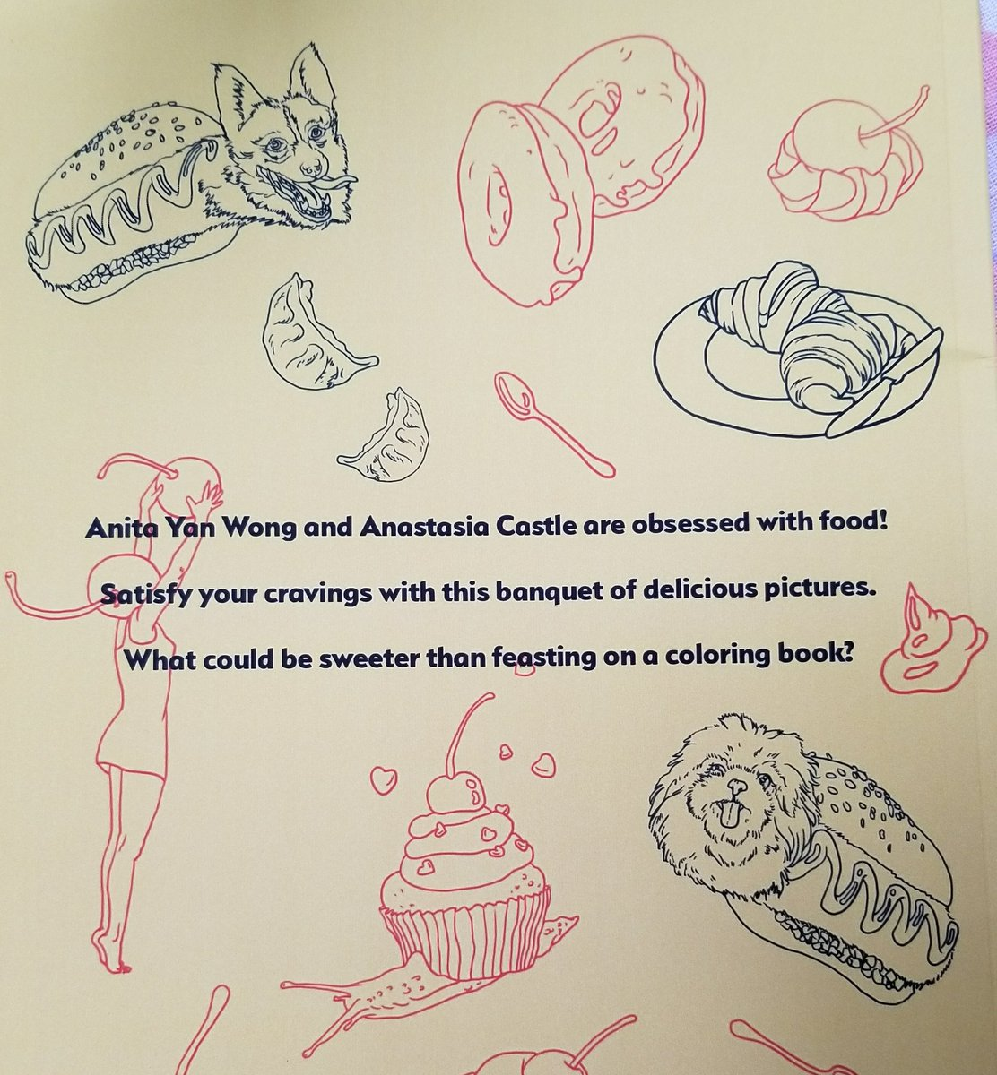 🍃gwyn🍃 On Twitter   The Foodie Coloring Book I Just Got