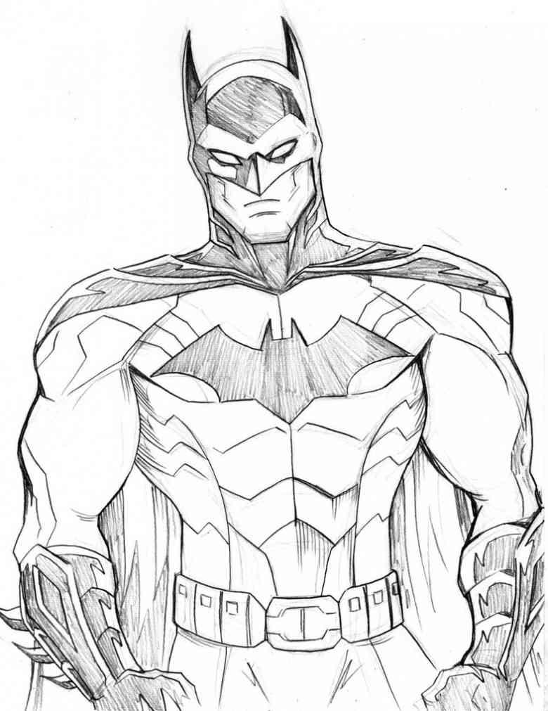Batman  168 (superhéroes) – Páginas Para Colorear