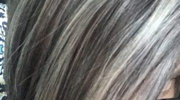 Coloring Gray Hair With Highlights
