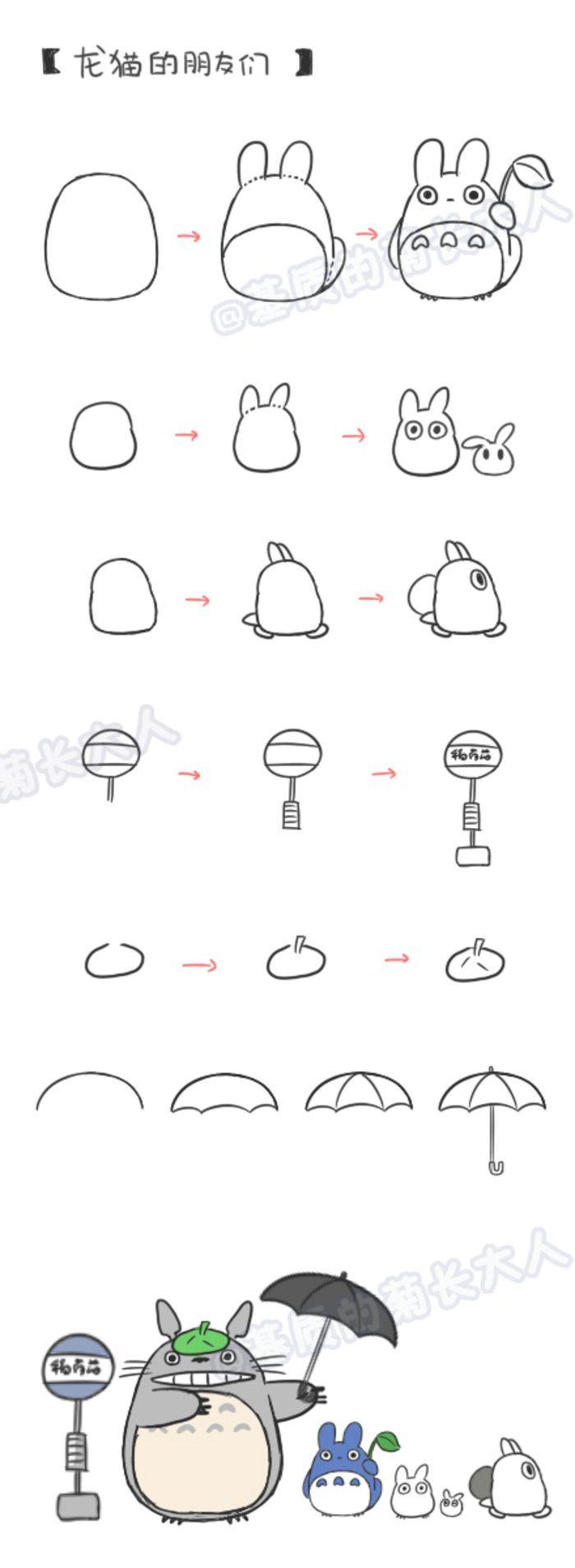 How To Draw Chinchilla Friends  Ju @ Matrix Grew From People