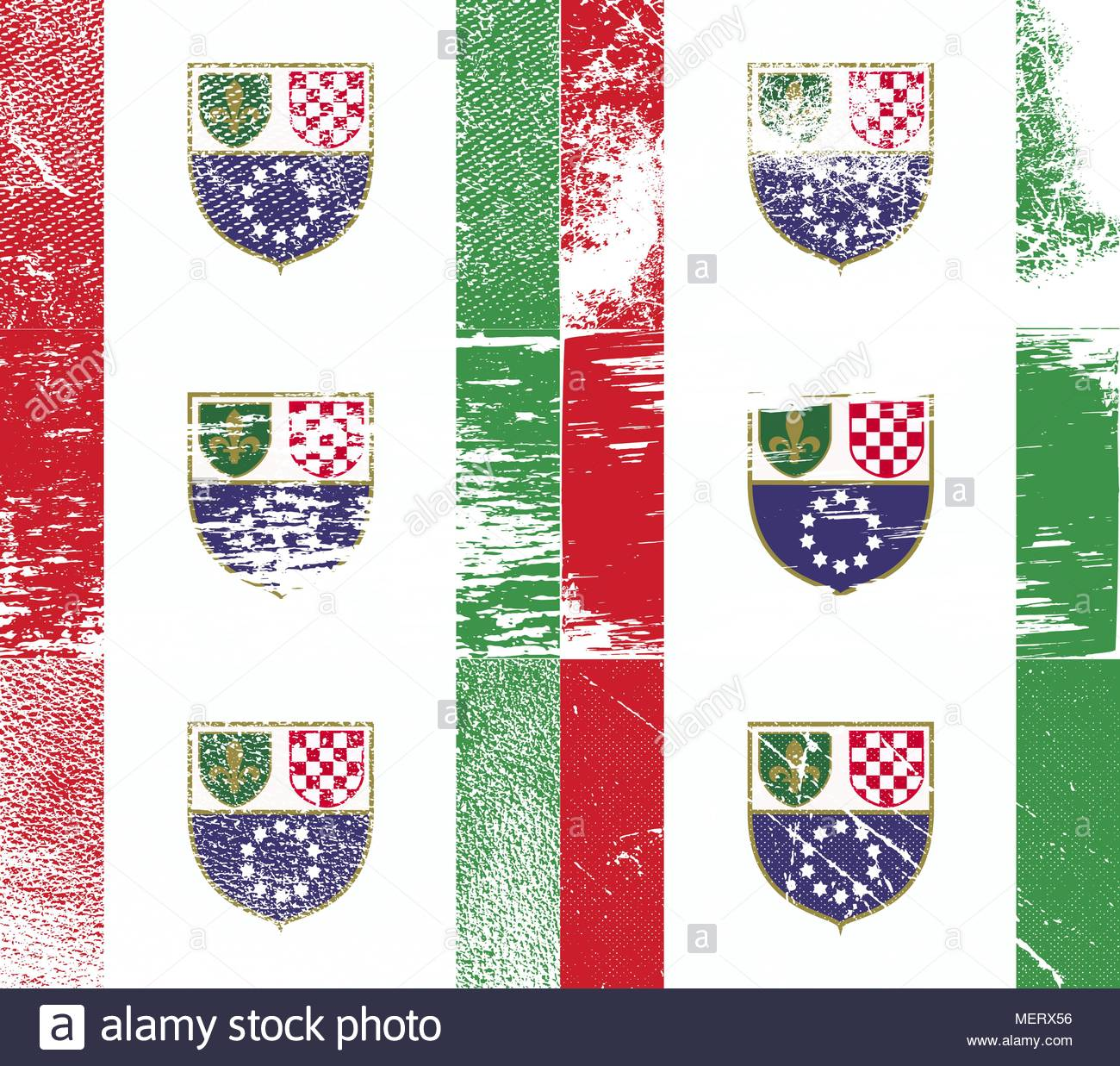 Bosnia Pattern Stock Vector Images