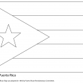 Barbados Flag Coloring Pages