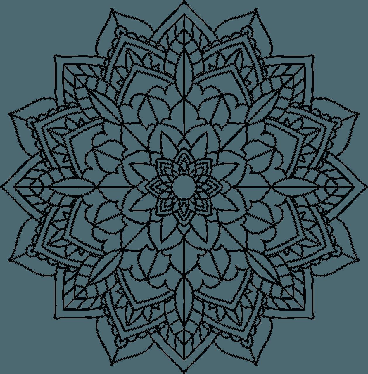 Imágenes De Mandalas Para Colorear  Imprimible