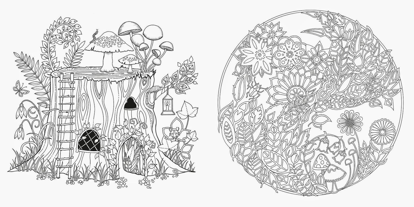 Forest Coloring Pages For S 1600×800 Attachment