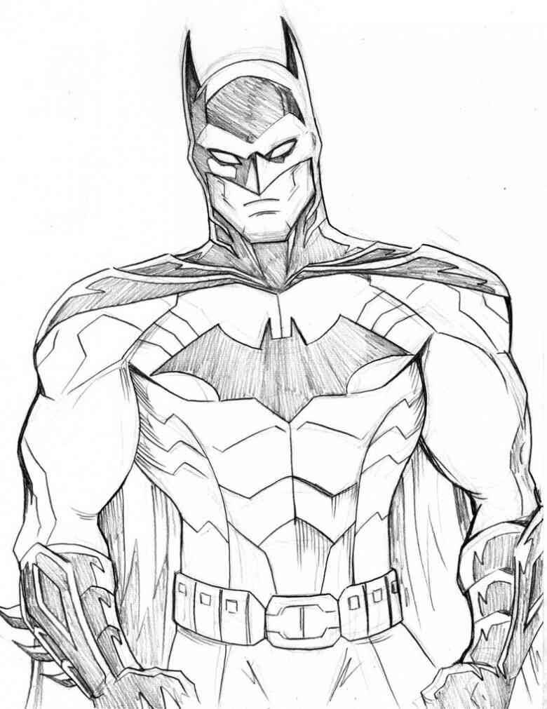 ▷ Dibujos De Batman A Lápiz