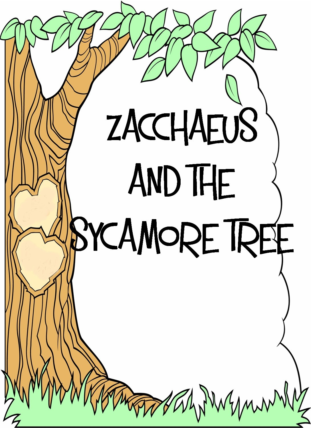 Sycamore Tree Coloring Page – Coloring Online