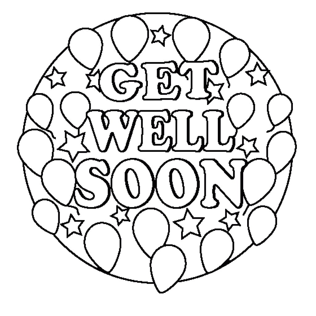 24 Comforting Printable Get Well Cards
