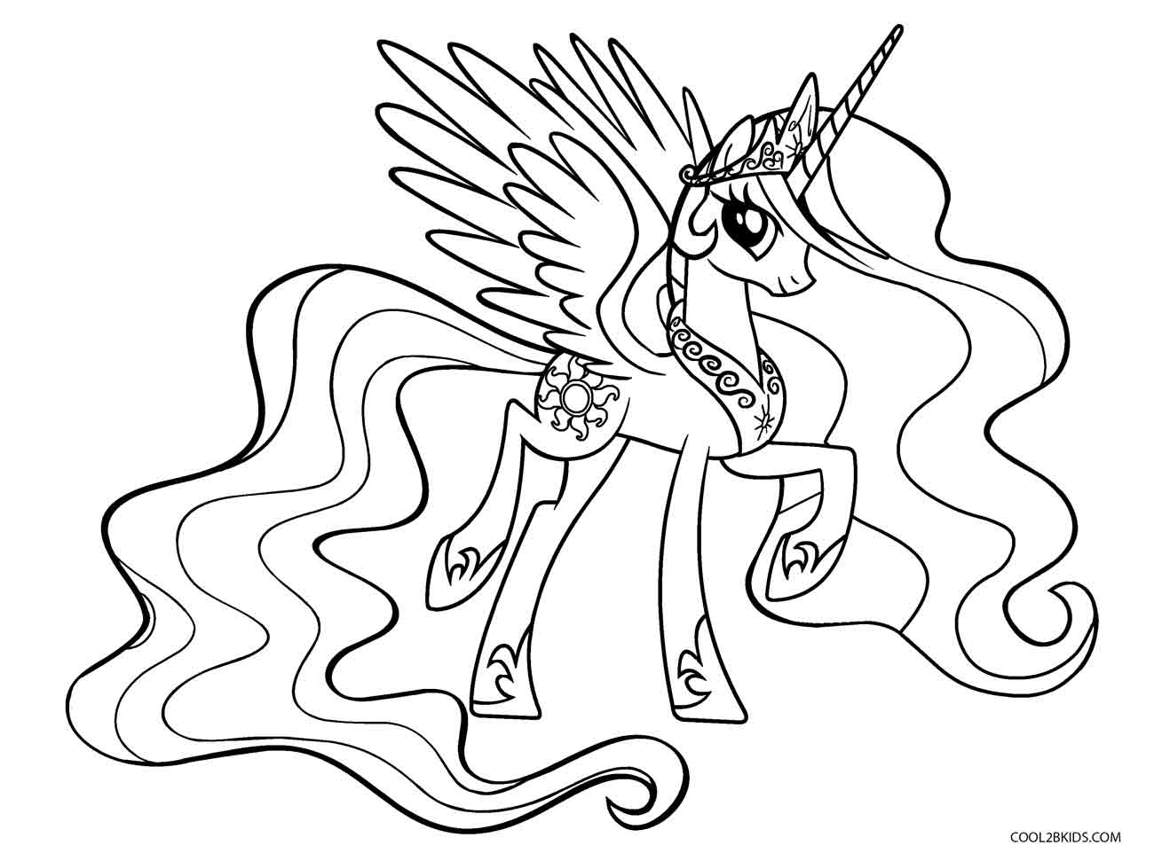 Coloring Page ~ My Little Pony Coloring Pages Print And Color Com