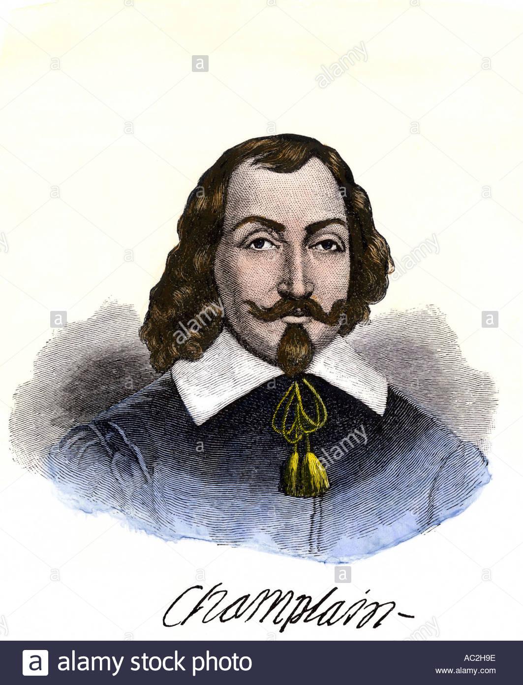 Samuel De Champlain Stock Photos & Samuel De Champlain Stock
