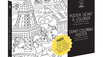 Giant Coloring Poster Omy