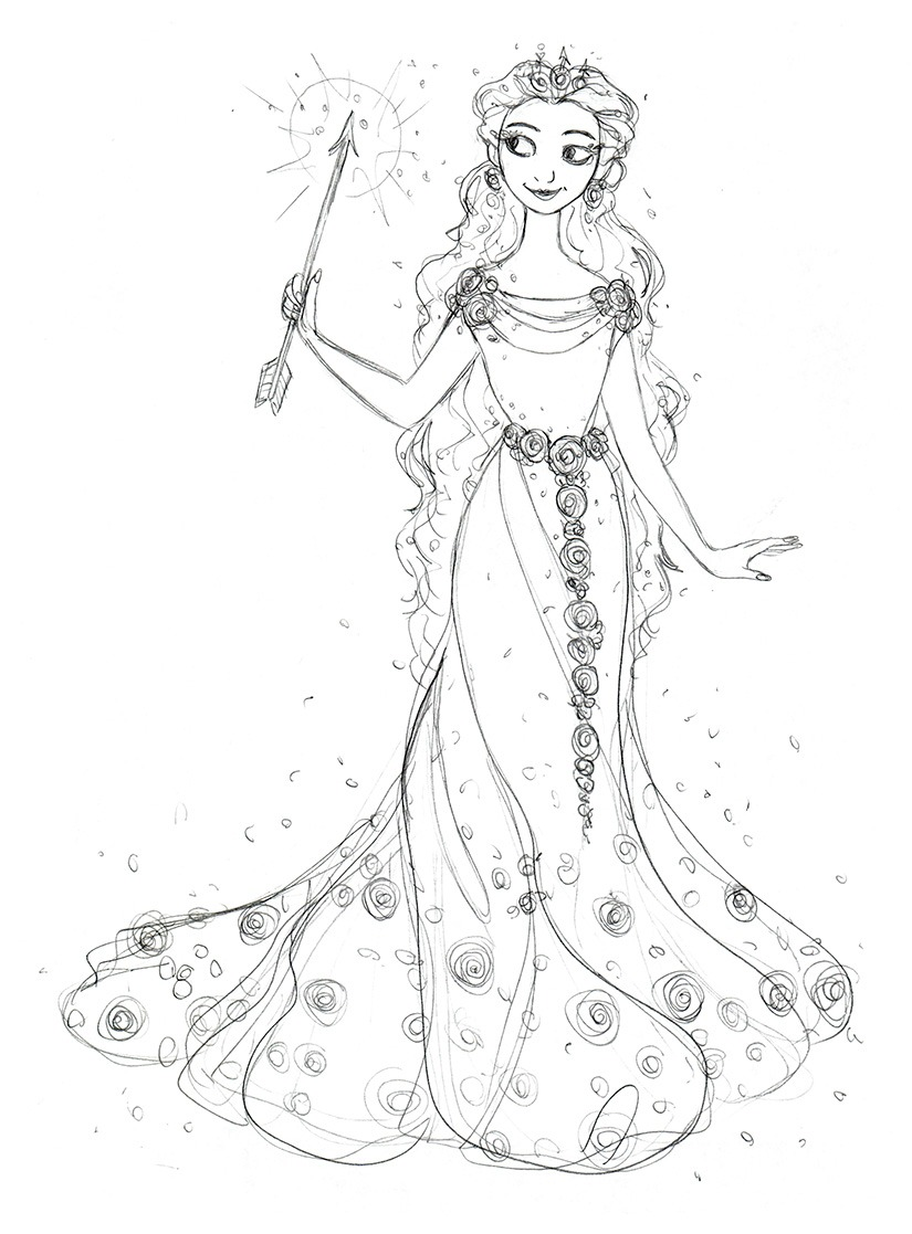Glinda Coloring Pages