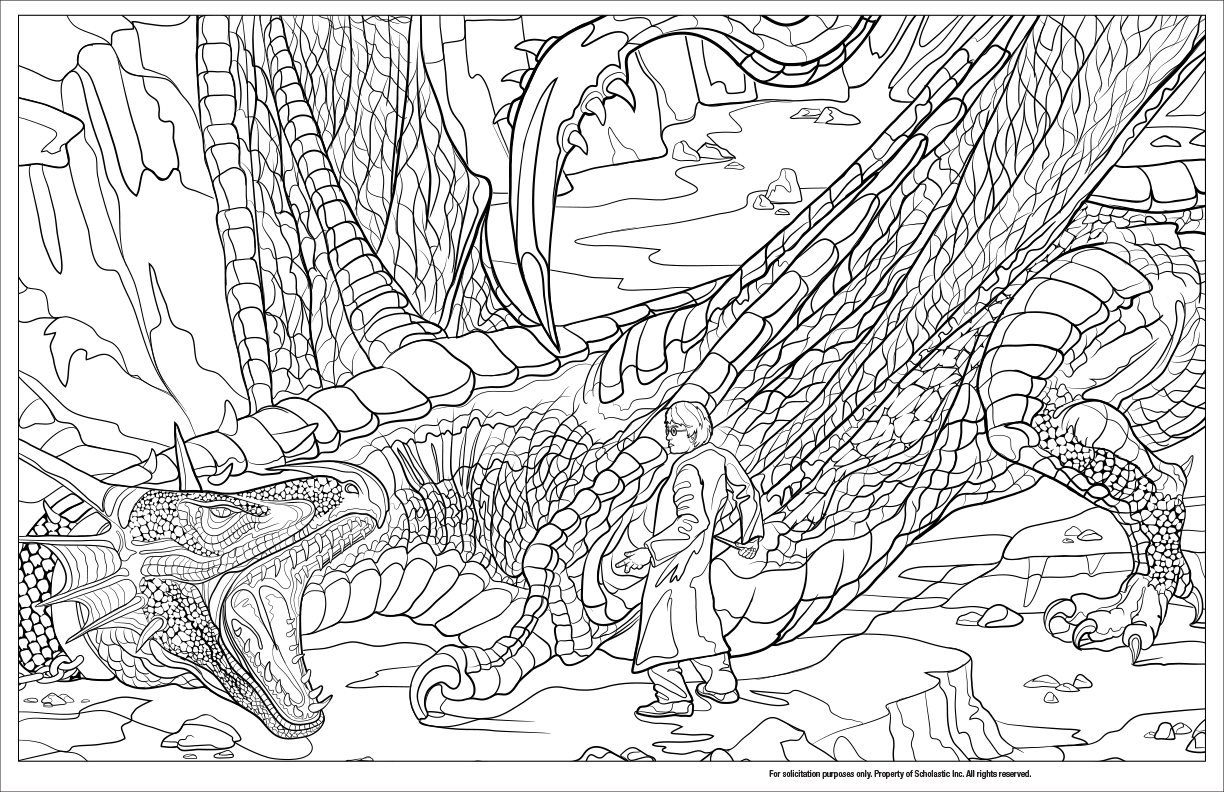 Peek Inside The Next Harry Potter Coloring Book