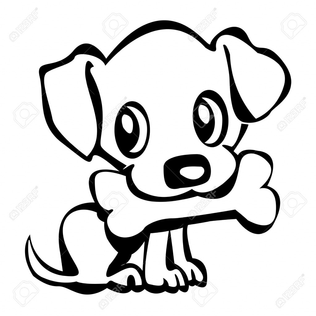 How To Draw An Easy Puppy Drawing Cute Dog Drawings A Golden 2