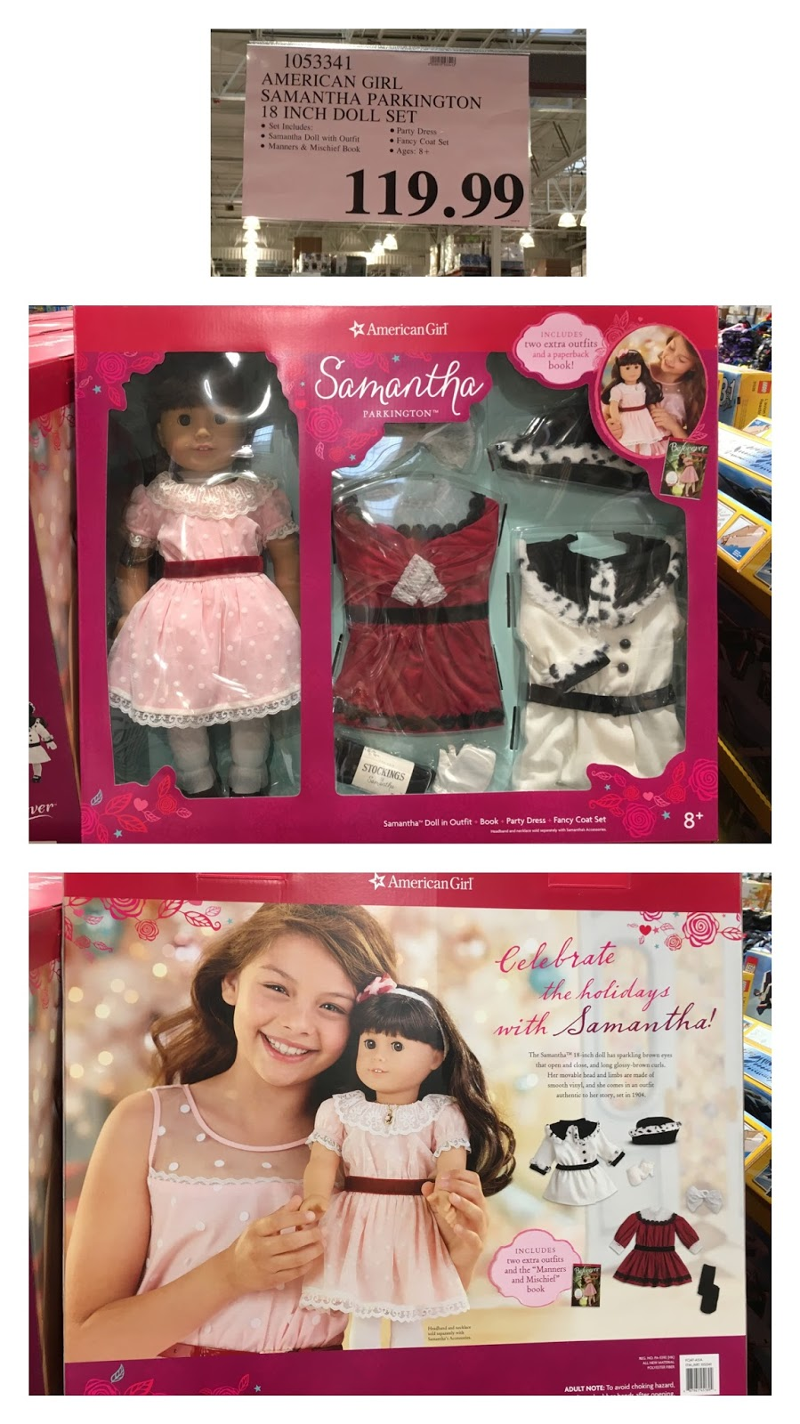 The Costco Connoisseur  Costco Holiday 2016  Americangirl Dolls