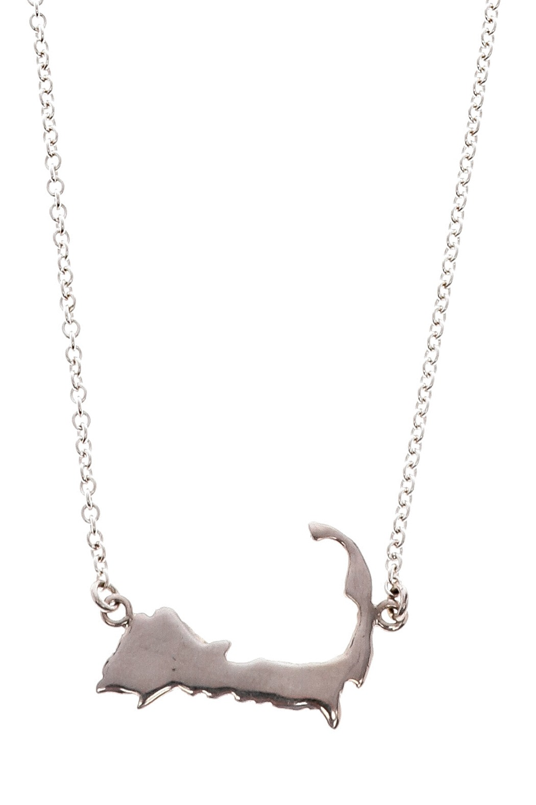 Jewelry Studio Of Wellfleet Cape Cod Silhouette Necklace From
