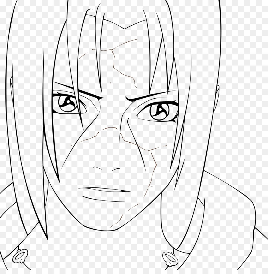 Itachi Uchiha Line Art Sasuke Uchiha Drawing Black And White