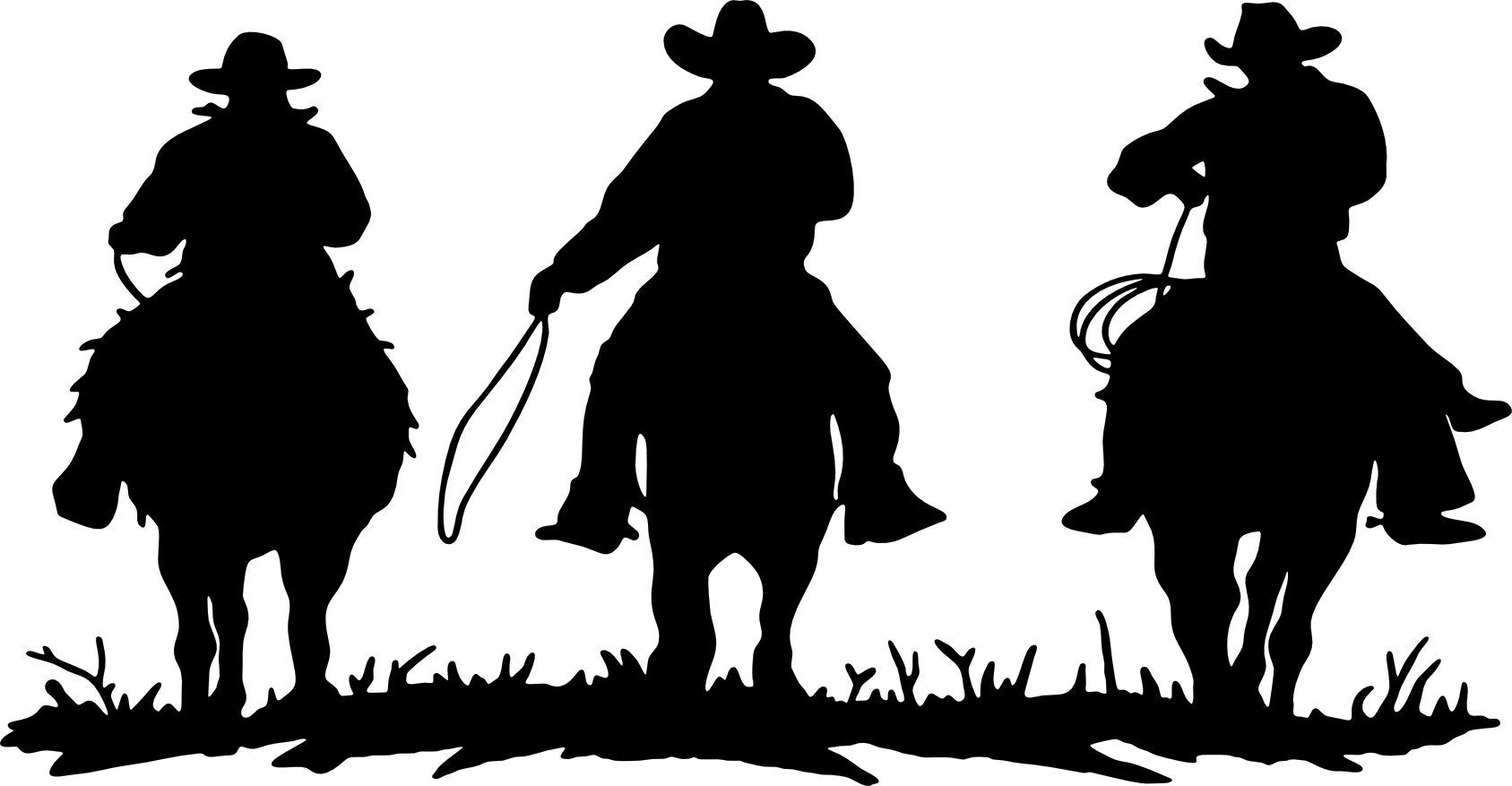 Western Horse Silhouette Images Pictures
