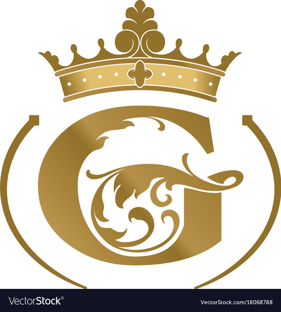 Letter G Logotype Royalty Free Vector Image