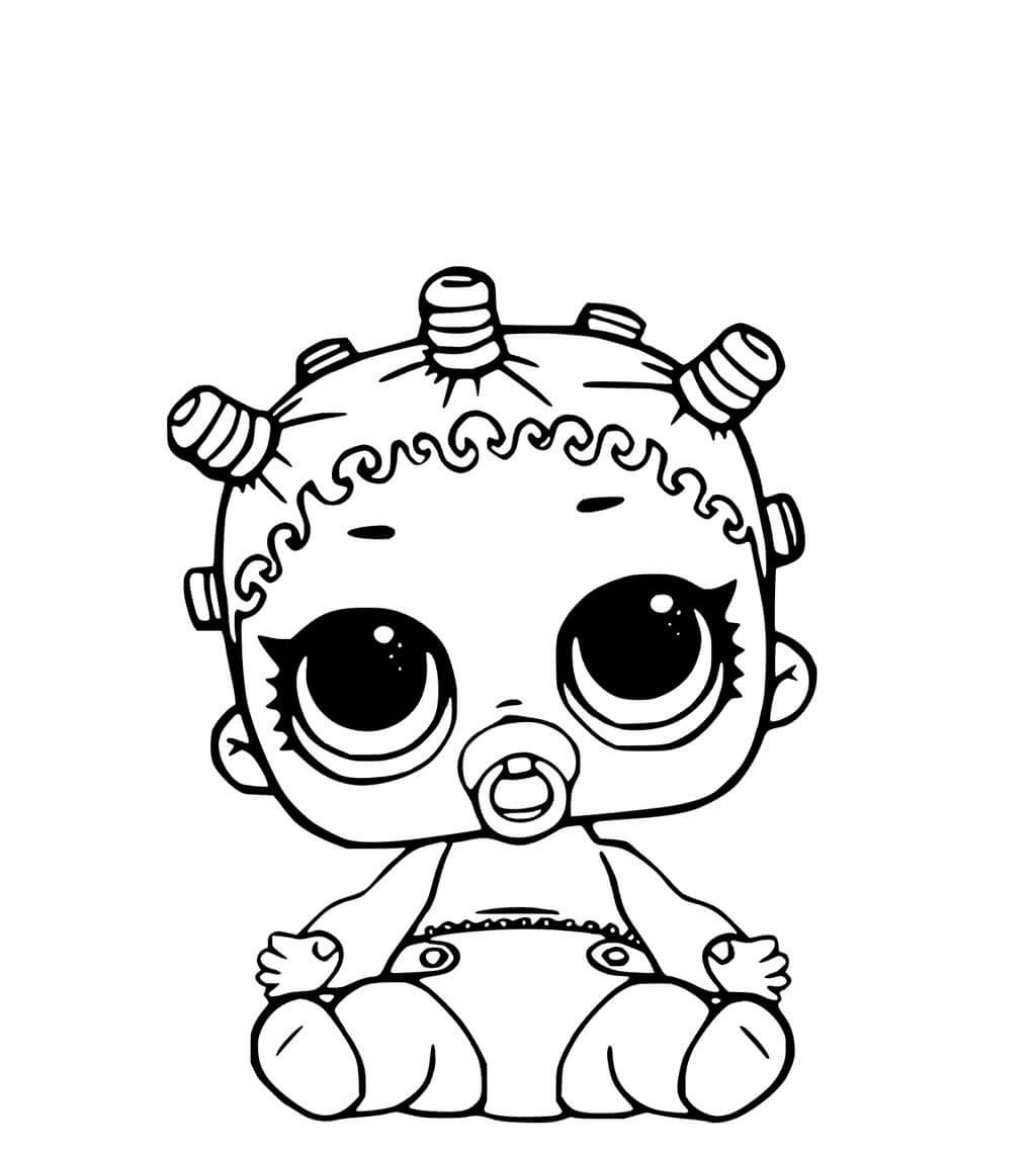 10+ Awesome Lol Dolls Coloring Pages