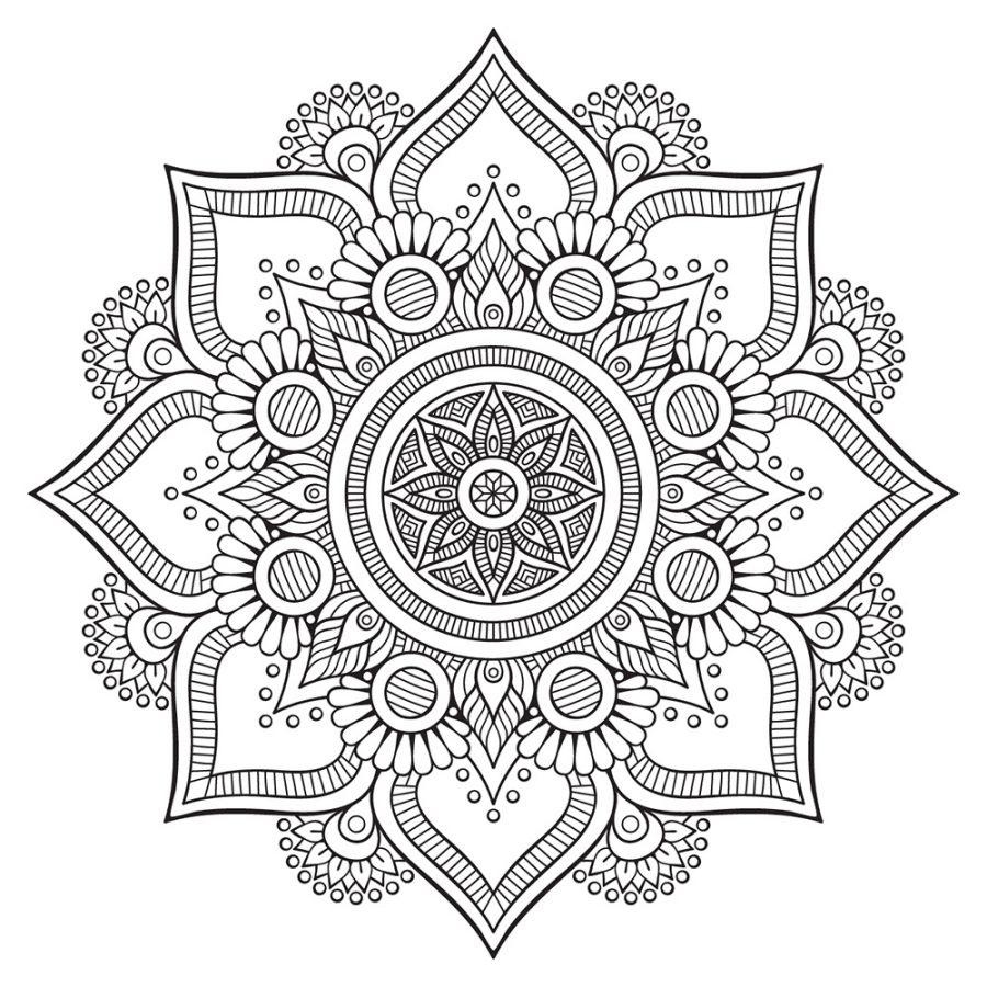 ▷ Mandalas Para Colorear 🌌 Defractales Com