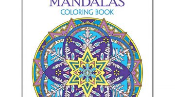 Mandala Coloring Book For Grown Ups