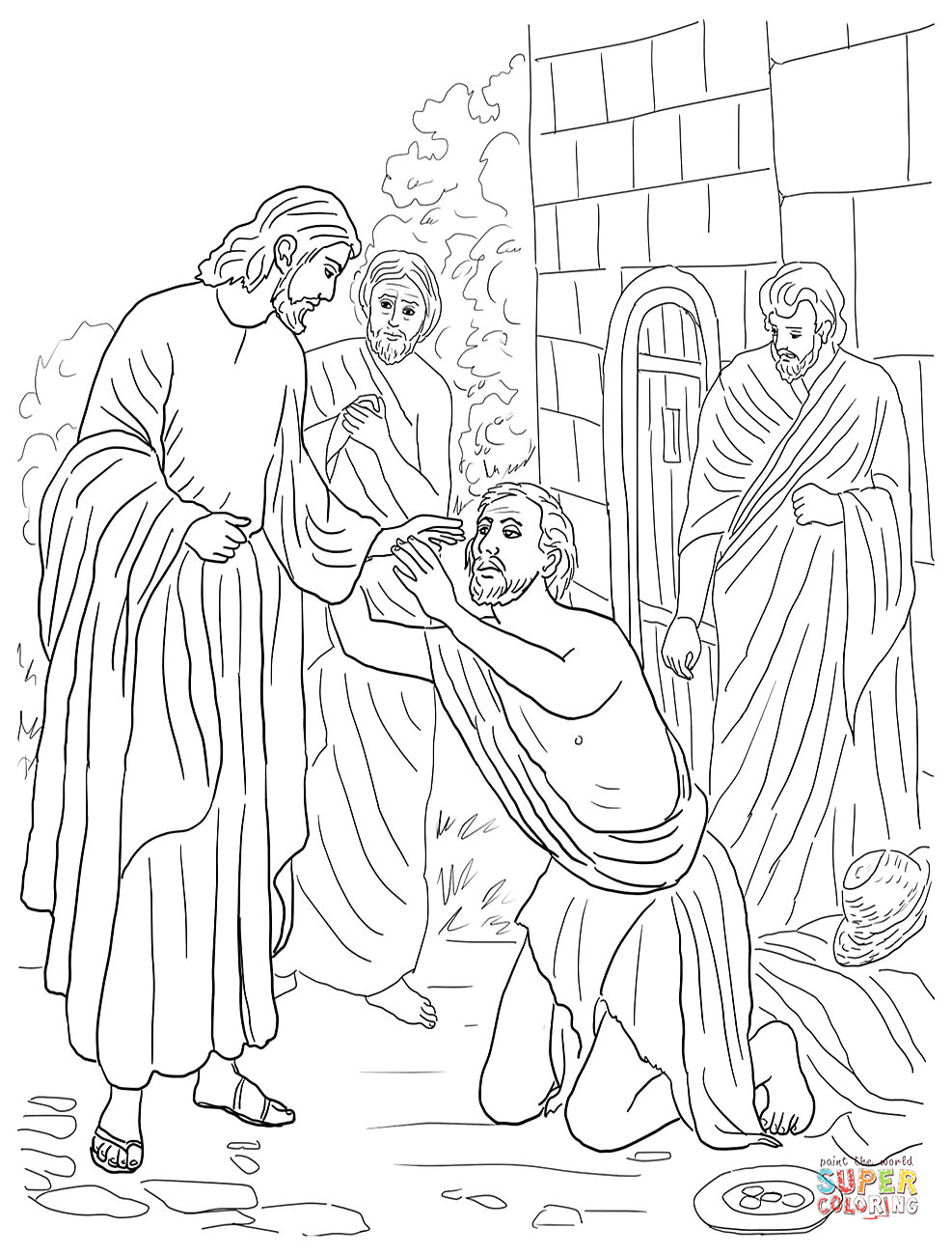Free Christian Coloring Pages For Kids, Children, And Adults