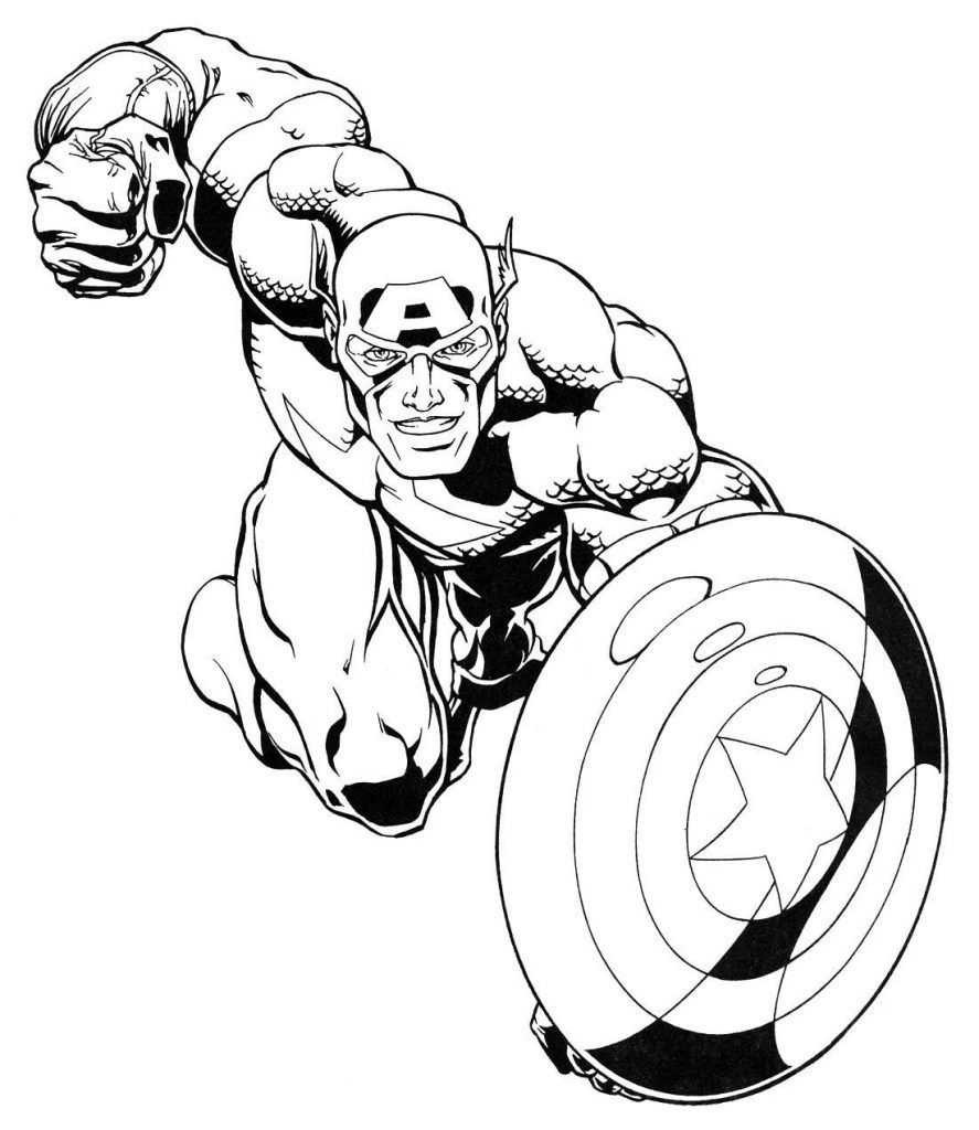 Marvel Coloring Pages – With Website Also Free Printable Superhero