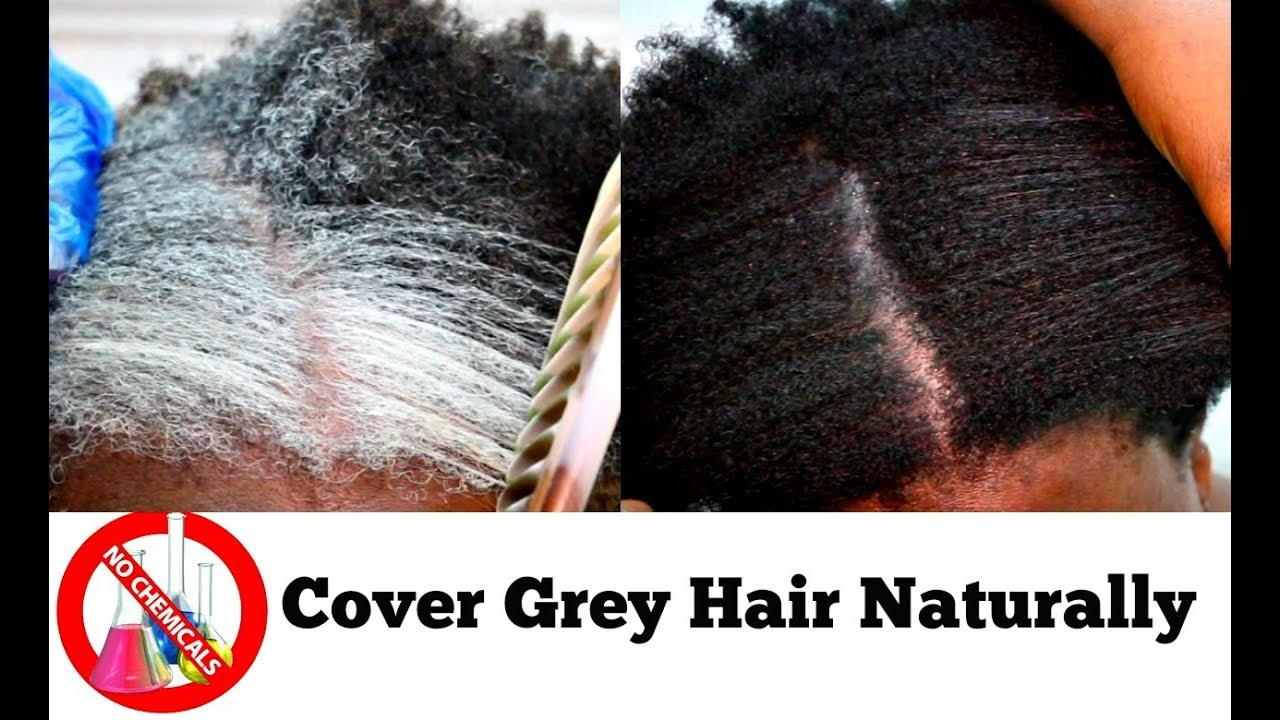 How To Turn White Or Grey Hair Into Black Naturally With No