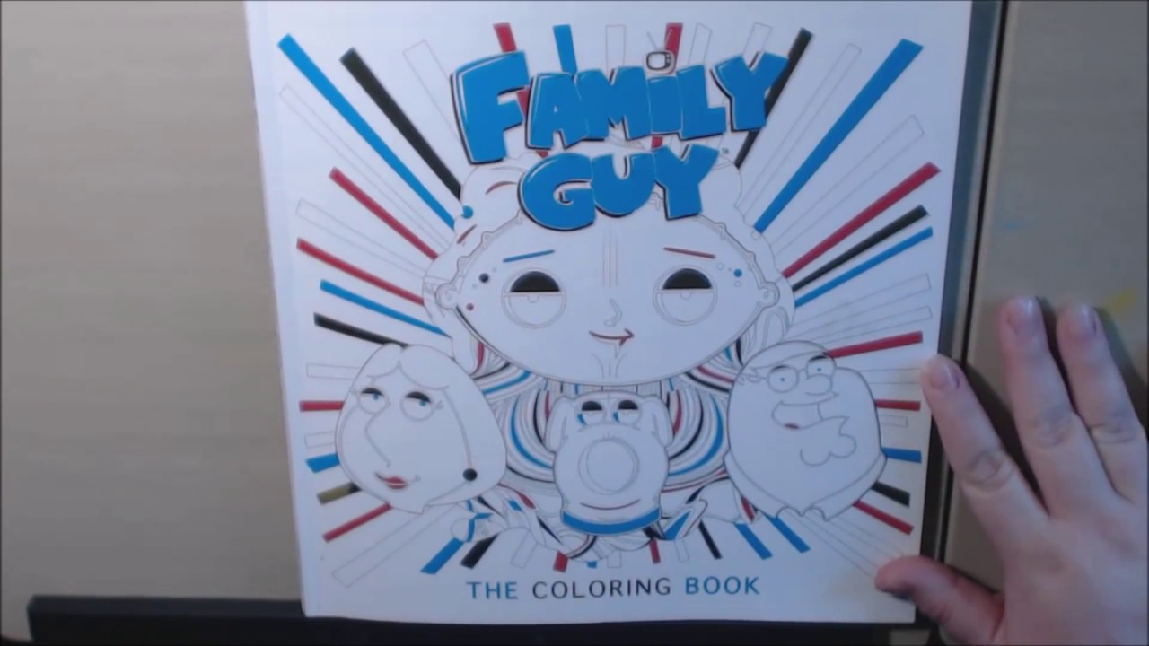 Family Guy The Coloring Book