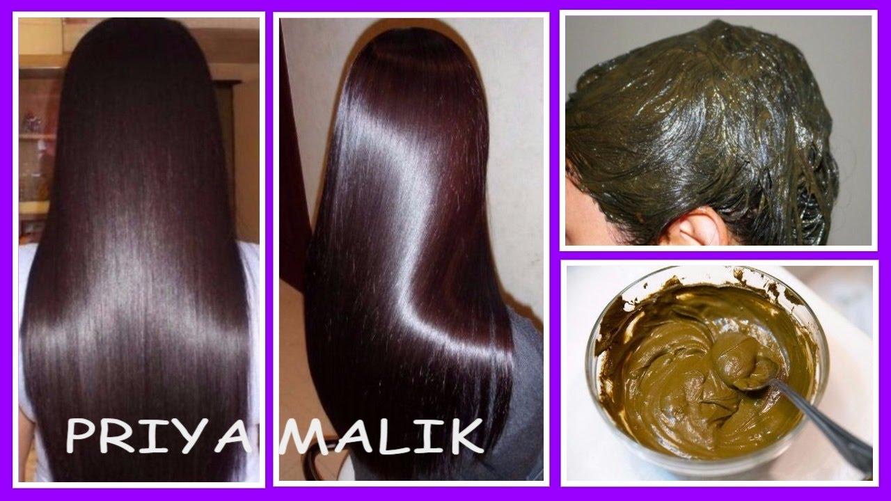 Get Shiny Hair, Silky Hair, Smooth Hair, Long Hair Naturally~henna