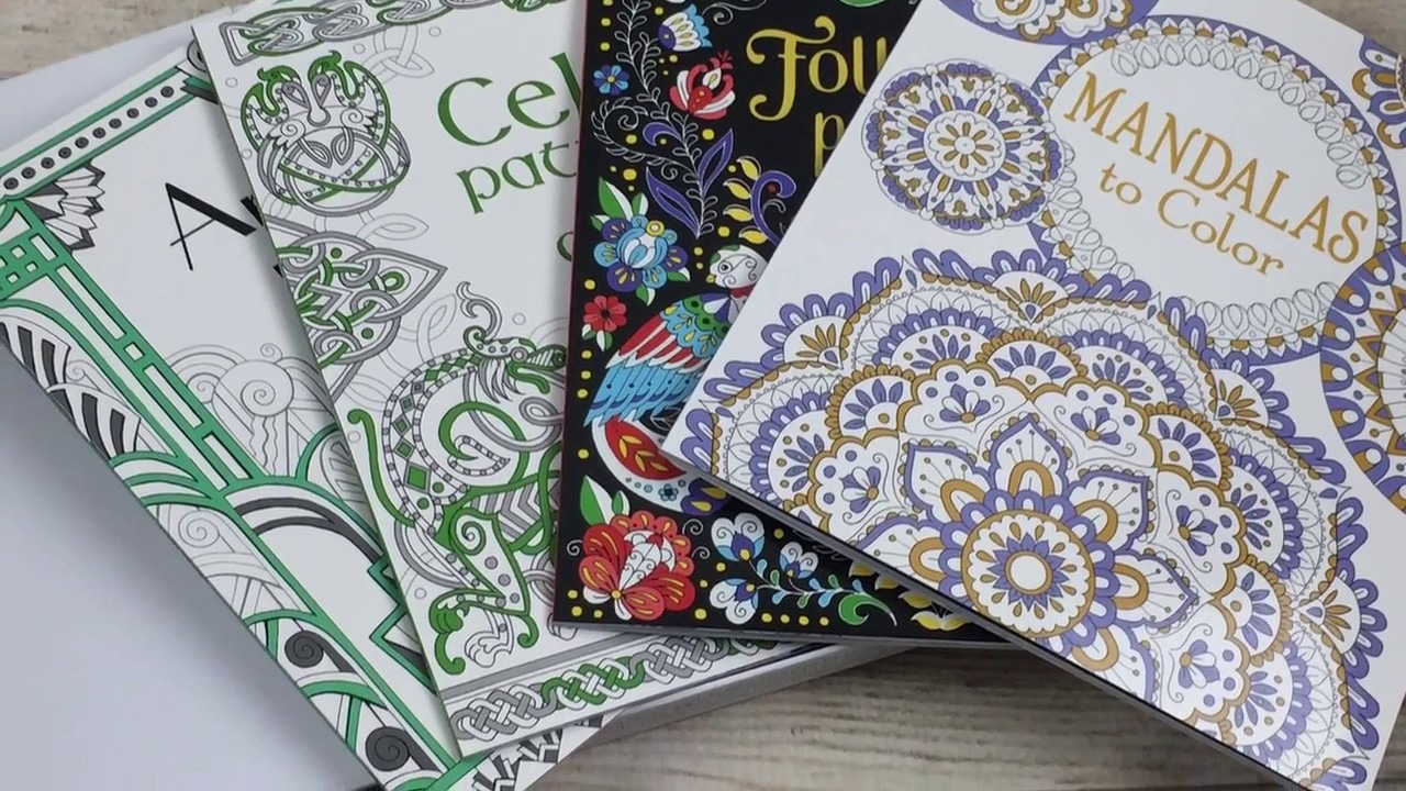 A Look Inside The Usborne Coloring Book Collection Customer