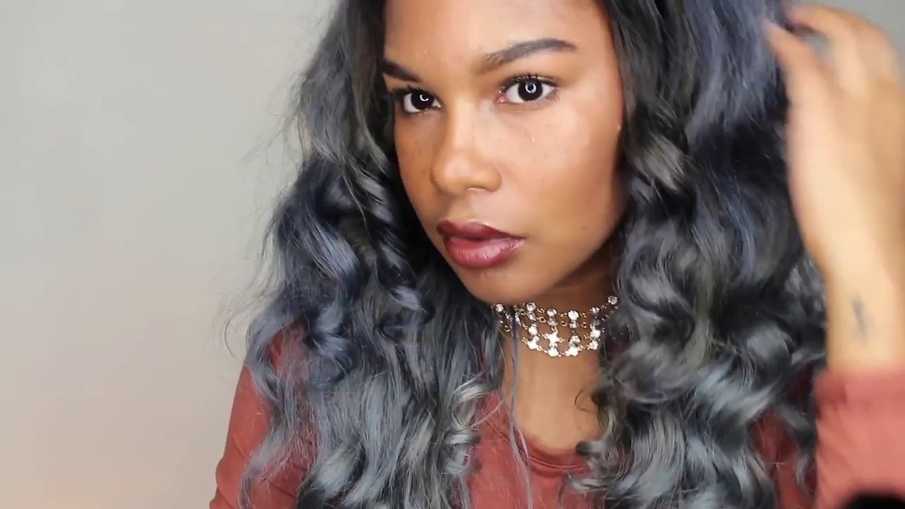 How To Dye Black Hair To Silver Grey L Lavy Hair