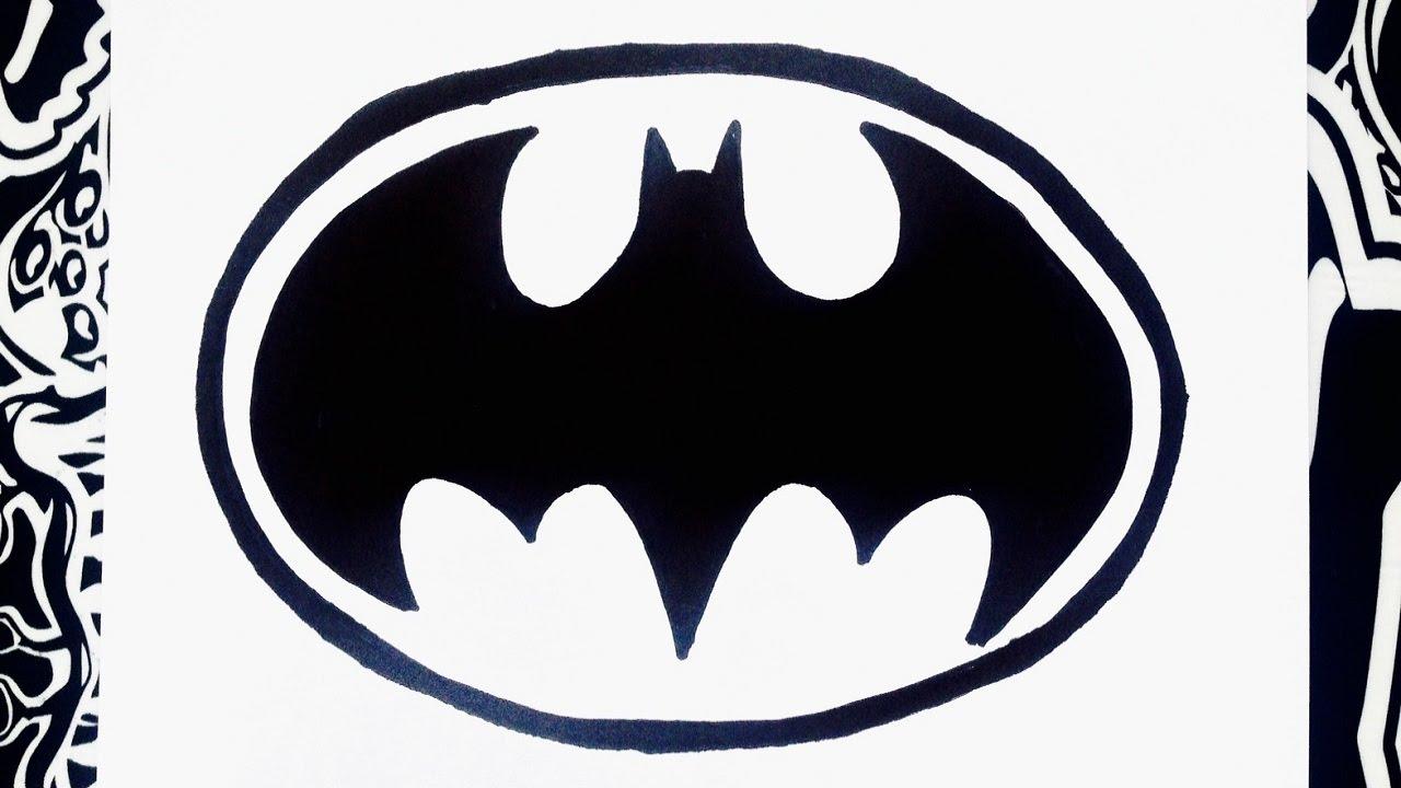 Como Dibujar El Logo De Batman