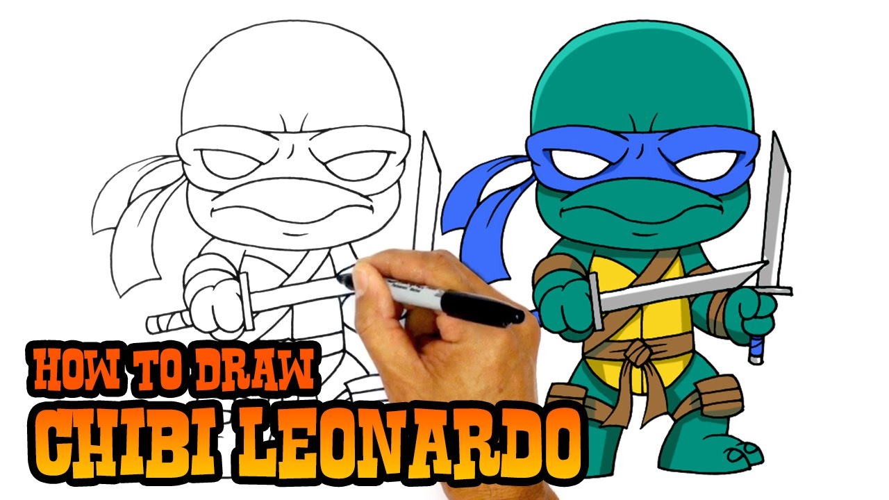 How To Draw Leonardo