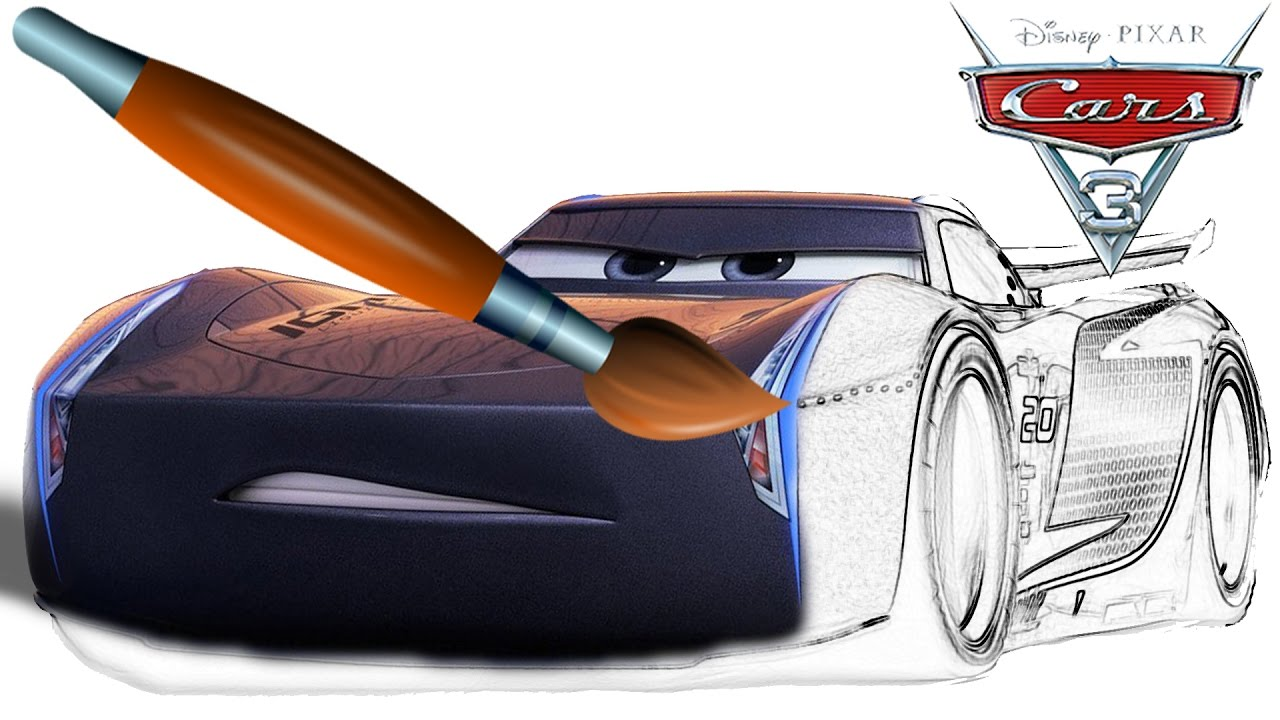 Jackson Storm New Character Cars 3