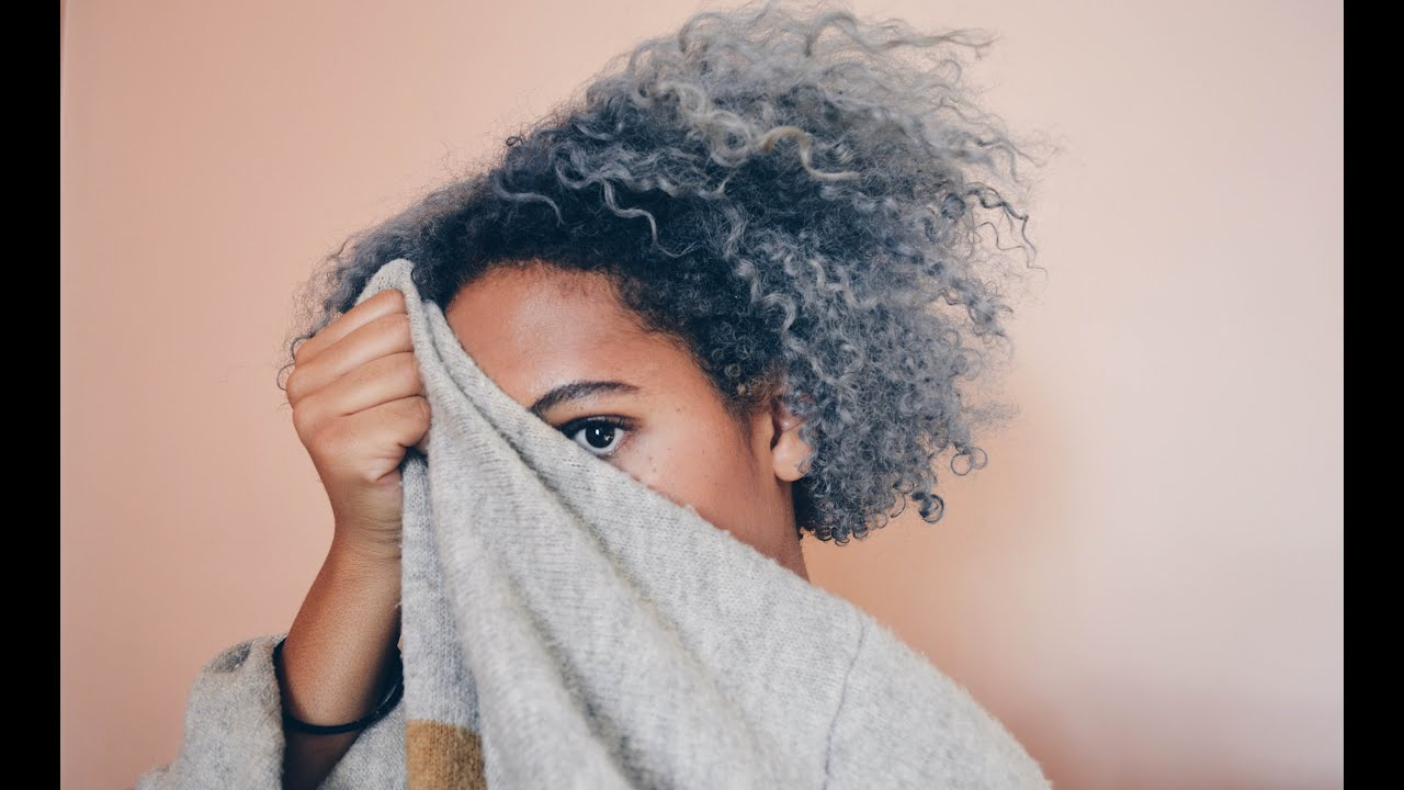 How To Dye Your Natural Hair Silver Grey