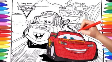 Cars 3 Coloring Book