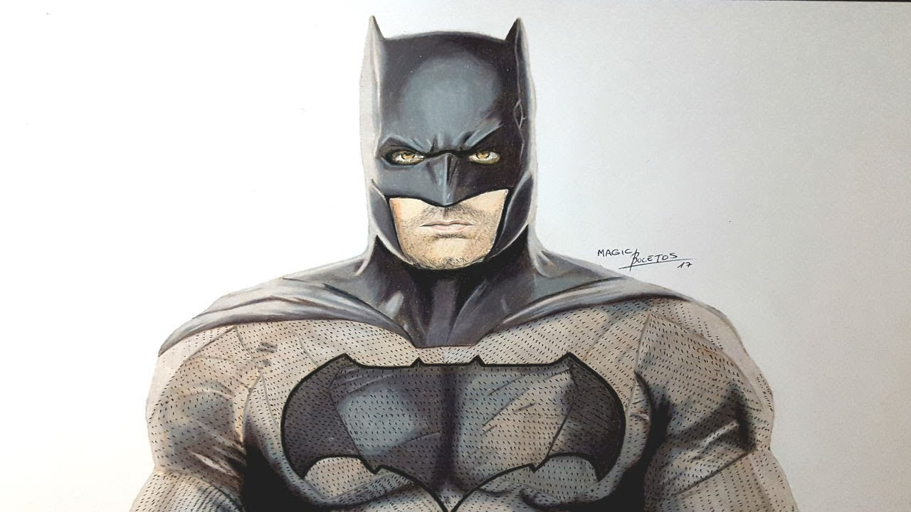 Cómo Dibujar A Batman Realista