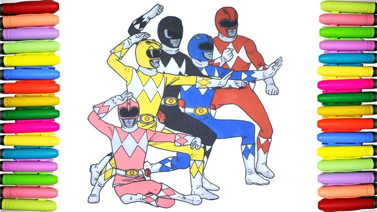 Power Rangers Coloring Pages For Kids