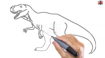 How To Draw A T Rex