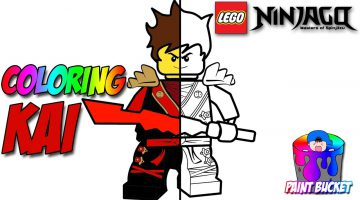 Lego Ninjago Movie Coloring Pages