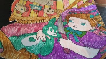 Melanie Martinez Cry Baby Coloring Book Pages