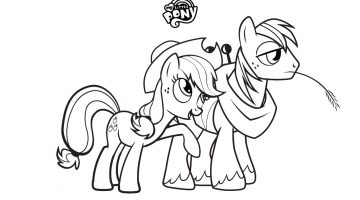Pony Pictures To Colour And Print