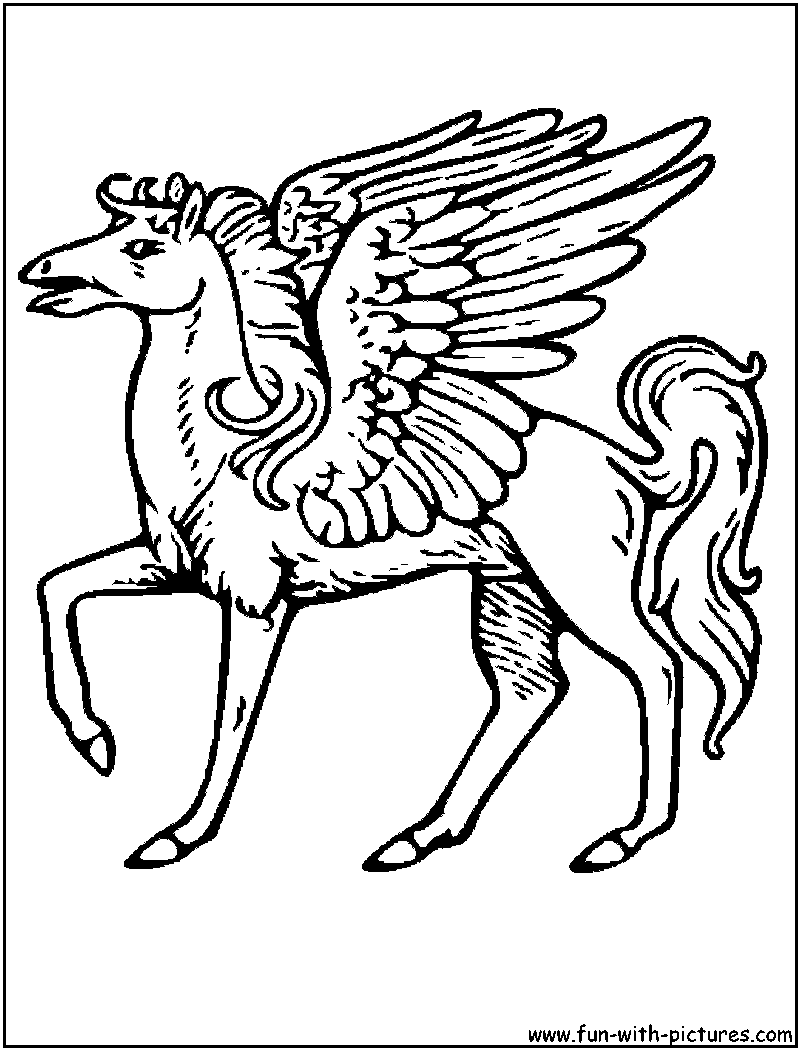 Mythical Creatures Coloring Books