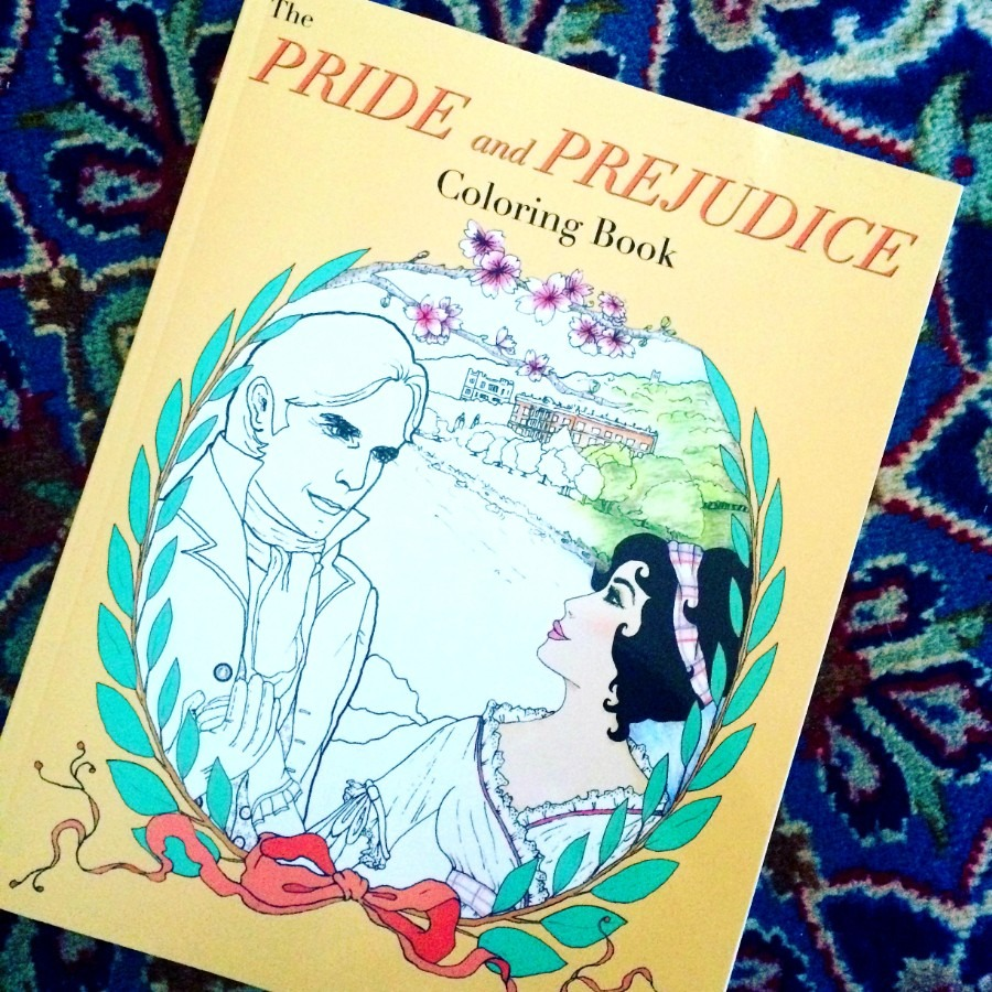 Gfy Giveaway  The Pride And Prejudice Coloring Book