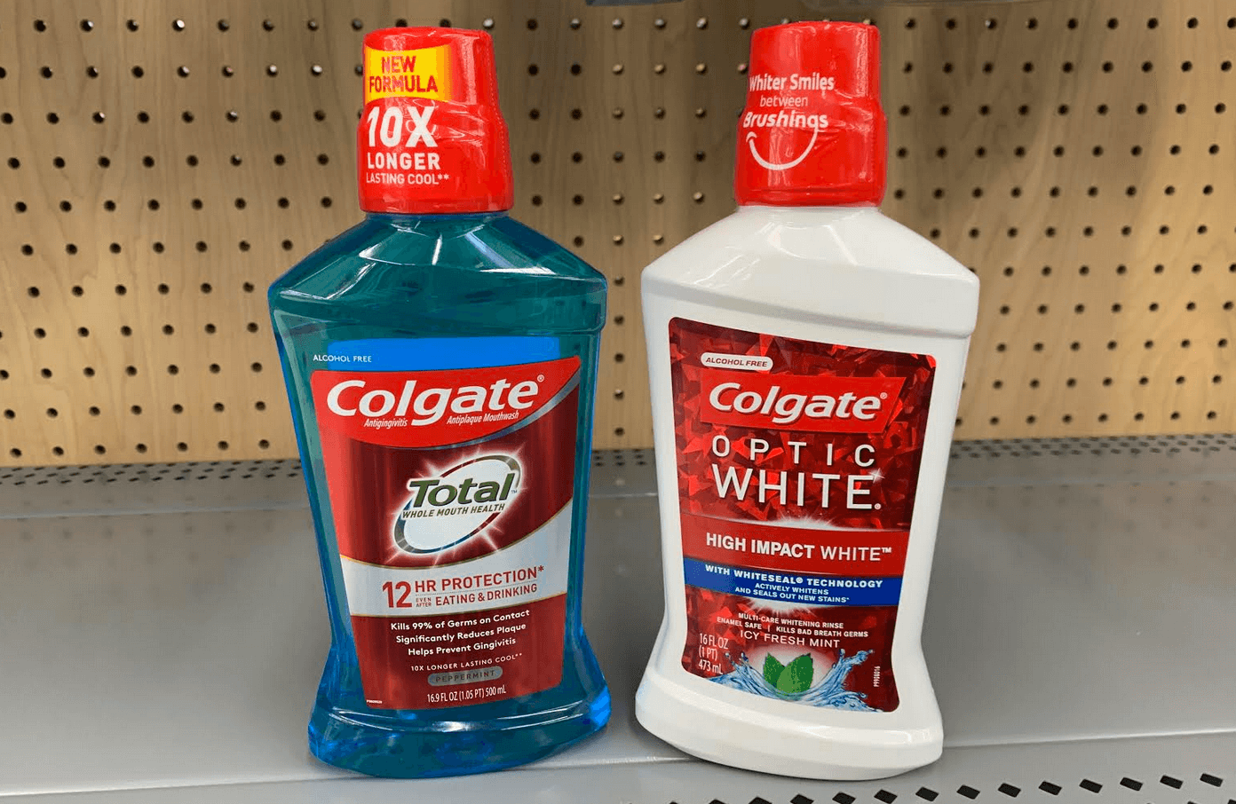 Up To 2 Free Colgate Total Or Optic White Mouthwash At Cvs