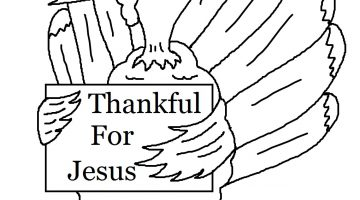 Bible Coloring Pages For Thanksgiving