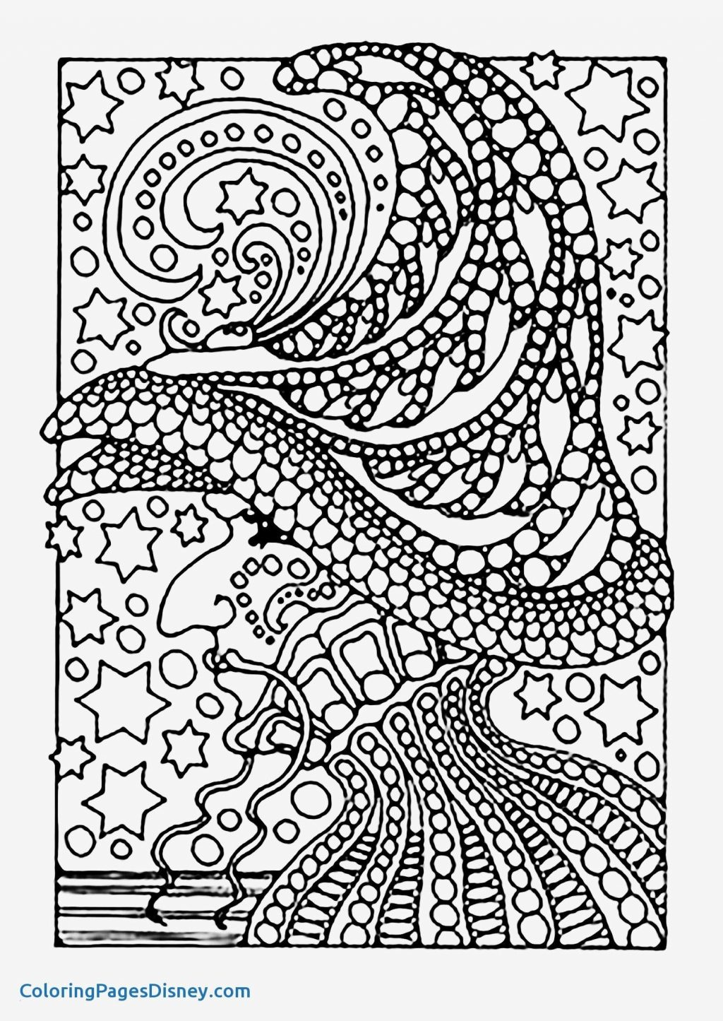 Coloring Page ~ Stress Relief Coloring Books Fresh Relieving New