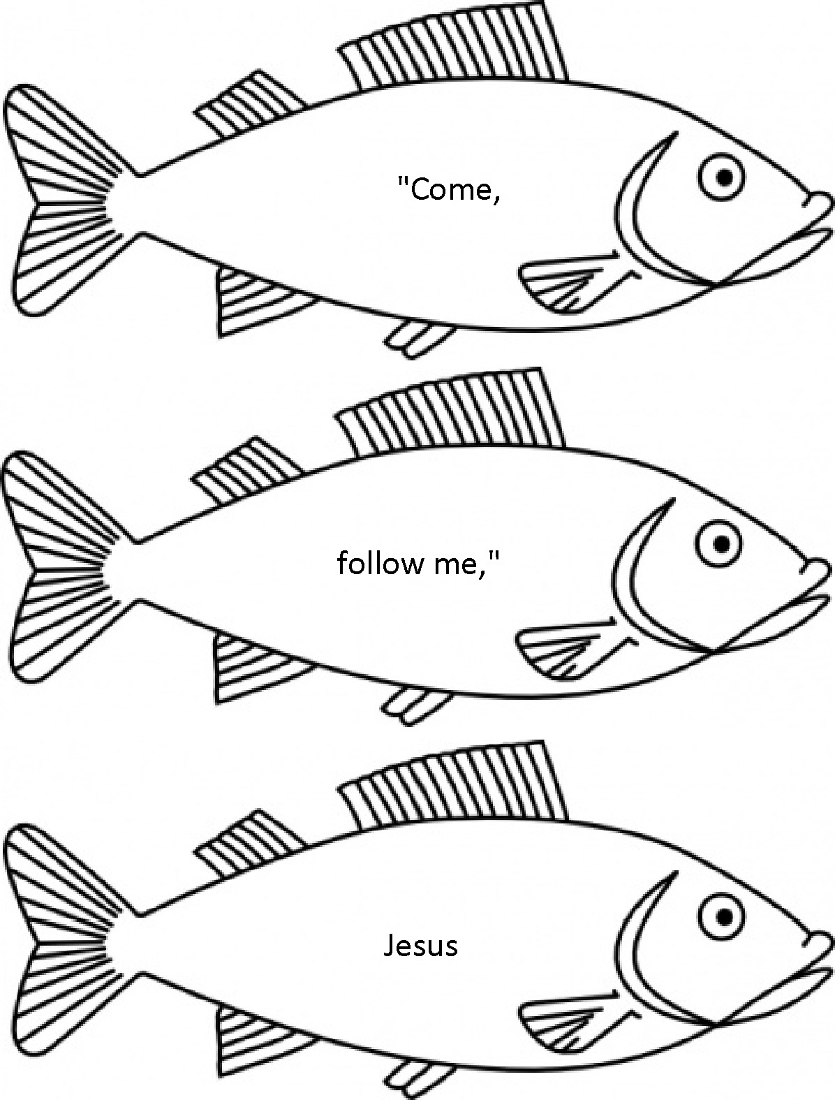 Survival Fishers Of Men Coloring Page Pages Best O Val Me