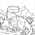 Tyrannosaurus Coloring Pages